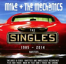 Mike and The Mechanics - Singles 1985-2014 + Rarities  2 CD Best Of NEW & SEALED