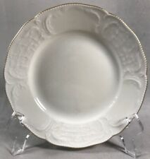 """PV03378 Ivory Rosenthal Sanssouci GOLD BAND 6 3/4"""" Bread Plate"""