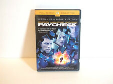 Paycheck - Action Mystery Sci-Fi Movie (Dvd, 2004, Full Frame)
