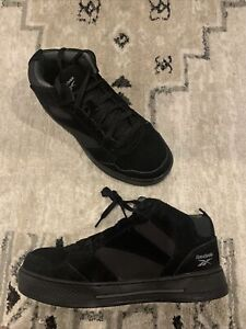 Reebok Work Dayod Composite Toe High Top Safety Shoe Men's Size 8.5 W Wide Black