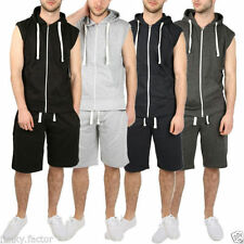 Cotton Tracksuit Sleeveless Hoodies & Sweats for Men