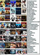 dvd backer cards  many rare and old movies  on these ( not a dvd)  mini posters