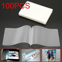 "100 sheets Laminating Pouches Laminator Sheets 2.59 x 3.77""  Mil Scotch Quality"