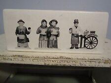 Dept 56 Violet Vendor Carolers Chestnut Vendor Mib #55808 Heritage Village