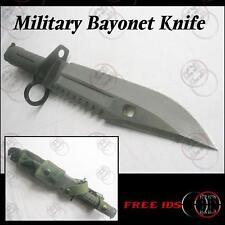Military Bayonet TK Survival Knife /W Sheath D80