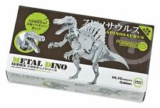 Gakken META DINO Series Spinosaurus Metal Figure Kit Best Buy Gift from Japan