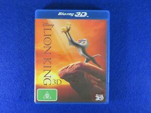 Disney The Lion King 3D - Blu Ray - Free Postage !!