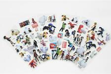 Big Hero 6 3D Action Figures Children Stereoscopic Stickers-lot of kid gift 6PCS