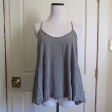 All Saints Washed Grey Dano Tank Racerback Vest- Size 10
