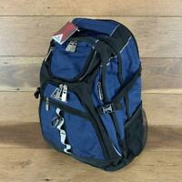 "MENS OR WOMENS RAMHORN 15.6"" LAPTOP BACKPACK W USB PORT (Blue + Black) US SELLER"