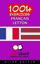 1001+ Exercices Français - Letton by Gilad Soffer (2016, Paperback)