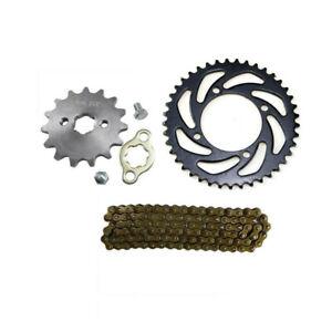 420 Chain Rear Front Sprocket for SSR Coolster Taotao Pit Bike 110cc 125cc ATV