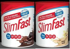 Slim-Fast Powder 3-2-1 Rich Chocolate Royale & French Vanilla (Pack of 2 $22.99)