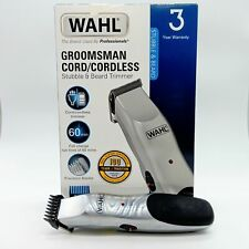 Wahl  Beard Trimmer Cord Cordless Grooming Kit #3165 NEW Damaged box