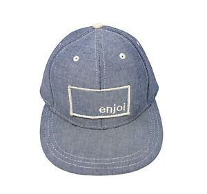 ENJOI SKATEBOARD FITTED CAP HAT SIZE ONE SIZE FITS MOST