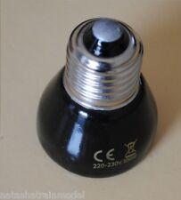 Lampada radiante riscaldante infrarosso IR in ceramica E27 rettili  tartarughe