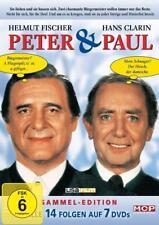 7 DVDs * PETER & UND PAUL  ~ HELMUT FISCHER -  HANS CLARIN # NEU OVP )