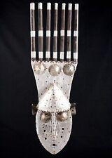 Art Africain African Mask Maske - Masque Peigne Ntomo - Marka - Bambara - 63 Cms