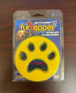 (2-Pack) FURZAPPER Pet Dog Cat Hair Fur Remover for Clothes Laundry ~ Reusable