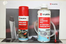 Wurth Air Conditioning Disinfectant Spray Cleaner 300ml Can and odour remover.