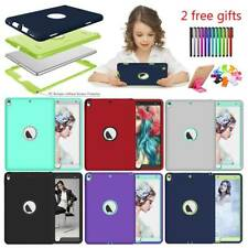 For iPad Mini 1 2 3 4 5 Air Pro 9.7 10.5 Armor Shockproof Heavy Duty Case Cover