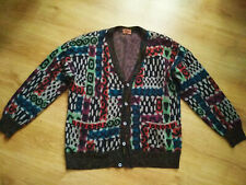 Spettacolare Stunning Cardigan Missoni Uomo tg. Large Vintage Pullover Maglione