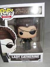 Funko Pop Movies Pride & Prejudice & Zombies Lady Catherine Vinyl Figure-New