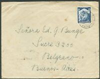 GERMANY TO ARGENTINA Cover 1935 VF