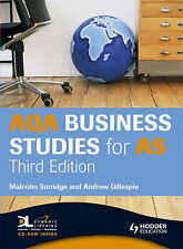 AQA Business Studies for AS (A Level Business Studies)-ExLibrary