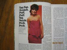 1985 TV Guide(LUCIE ARNAZ/ME & MOM/LISA EILBACHER/HOLLAND TAYLOR/KRISTI FERRELL)