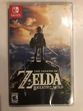 Sealed  Legend of Zelda: Breath of the Wild  (Nintendo Switch)Fast Free Ship