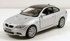 "Kinsmart BMW M3 Coupe 1/36 scale 5"" diecast metal model car Silver K08"