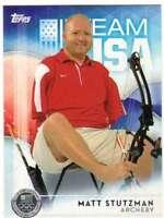 2016 Topps US Olympic Team USA Silver #10 Matt Stutzman  Archery