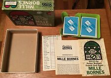 Vintage Mille Bornes French Card Game Parker Brothers 1962 1964 Collector Crafts