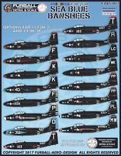 Furball Aero-Design 1/48 F2H-2/2P'COLORATO BLU MARE BANSHEES' #S4811