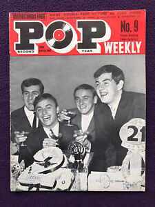 POP WEEKLY MAGAZINE 2nd Year No.9 Oct 26th 1963 Gerry & Pacemakers SEARCHERS