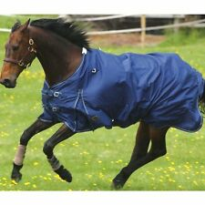 "Mark Todd Light Weight/Lightweight Turnout Rug Navy 6'0"" Free P&P"