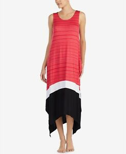 SIZES/COLORS DKNY Contrast-Hem Printed Nightgown