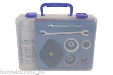 EMBRAGUE Freno Sangrado Gunson herramienta Eezi hemorragia Tool Kit Con Tapas spanners + Estuche