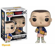 Stranger Things Eleven with Eggos #421 Funko Pop Television Vinyl Figure