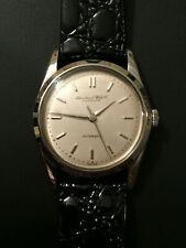 Vintage IWC Schaffhausen Men's Stainless Watch Cal. 85 Automatic ca. 1952 RARE!
