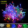 10M 100 LED Fairy String Christmas Tree Party Lights Lamp Xmas Decor Waterproof