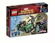 LEGO MARVEL SUPER HEROES SPIDER-MAN SPIDER-CYCLE CHASE 76004 - BRAND NEW