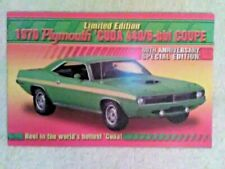 "Danbury MINT 1970 PLYMOUTH 'CUDA 440/6-bbl Coupe   ""FLYER"""