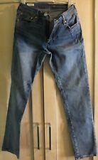 Mens Levis 511 Blue Jeans - 33 32