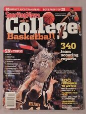2007-08 Sporting News College Basketball Yearbook Georgetown Roy Hibbert