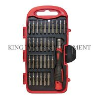 New KING 31 PC Precision Screwdriver & Bits Set, Toy Phone Watch Computer Repair