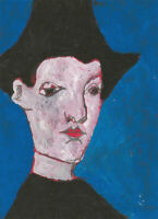 Ben Carrivick - Signed Contemporary Oil, Portrait Study VII