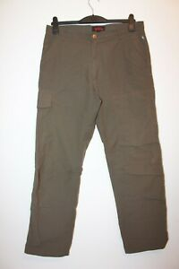 Fjallraven Brown Full Length Trousers Size 50 Hiking Walking Outdoors