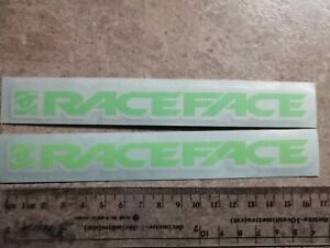 race face stickers green
